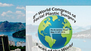 Invited at the 8th World Congress of Facial Plastic Surgery - Faces of the World Conference in Rio