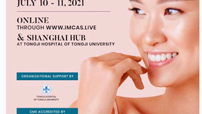 Being the speaker in Rhinoplasty session of IMCAS ASIA 2021.