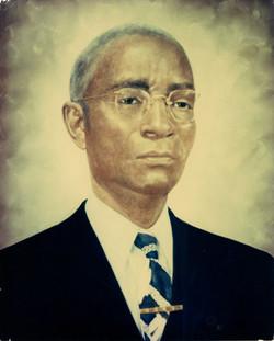 Portrait of B.C. Franklin