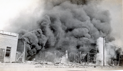Burning Buildings, N. Tulsa's W. S.