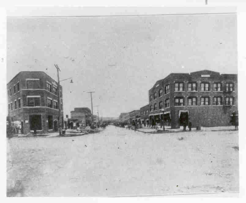 Greenwood Avenue circa 1925