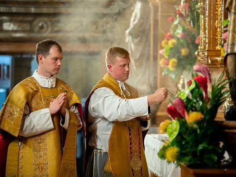 A New Priest and New Deacon for the Canons Regular
