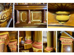 St. Joseph Altar Restoration Continues