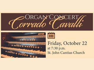 Organ Concert: Corrado Cavalli