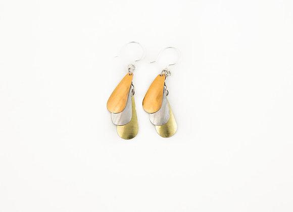 TEARDROP TRIO Earrings