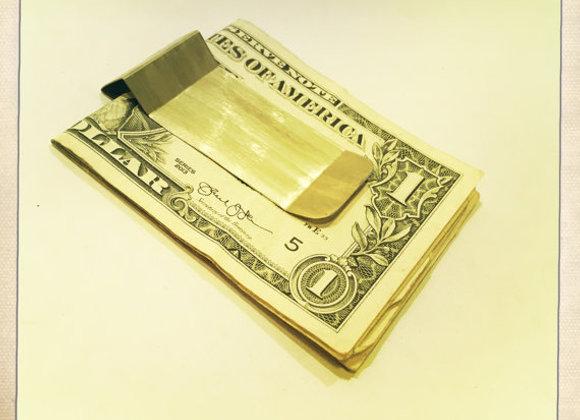 HALF CUBE MONEY CLIP