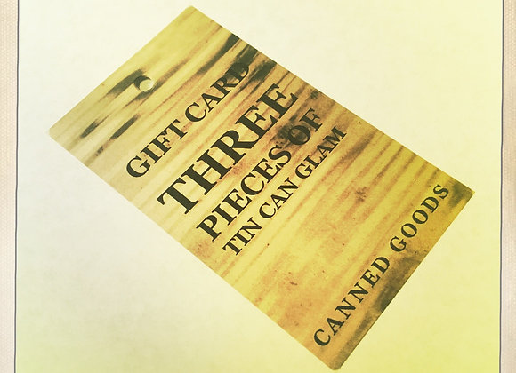 GIFT CARD - THREE PIECES