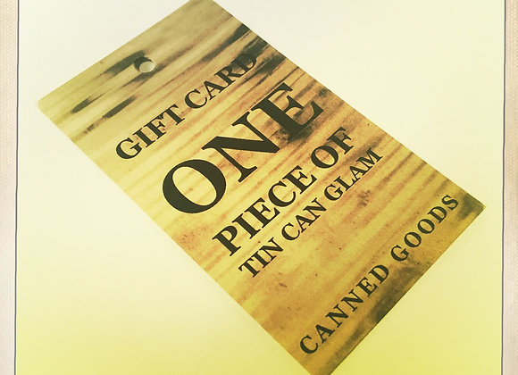 GIFT CARD - ONE PIECE