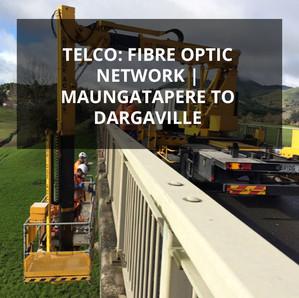 Telco: Fibre Optic Network | Maungatapere to Dargaville