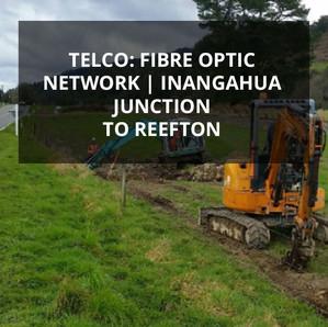 Telco: Fibre Optic Network | Inangahua Junction to Reefton