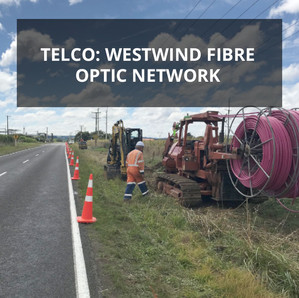Telco: Westwind Fibre Optic network | New Plymouth to Palmerston North
