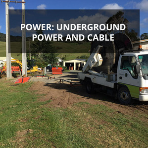 Power: Underground Power and Cable | Kaeo