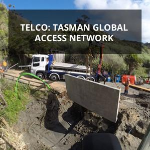 Telco: Tasman Global Access Network | Raglan Waikato