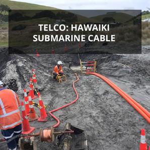 Telco: Hawaiki Submarine Cable | Mangawhai