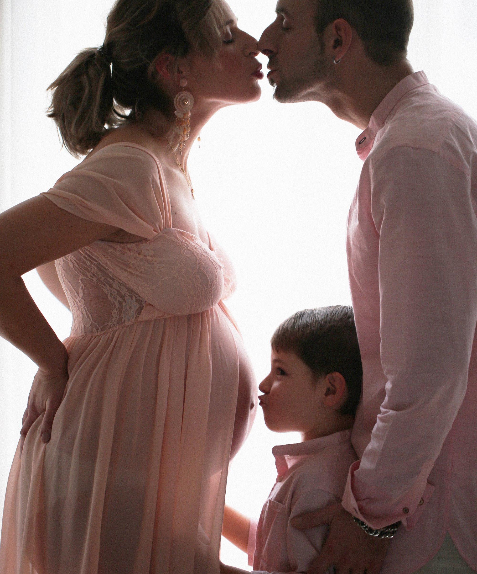 Grossesse avec conjoint(e) et 2 enfants