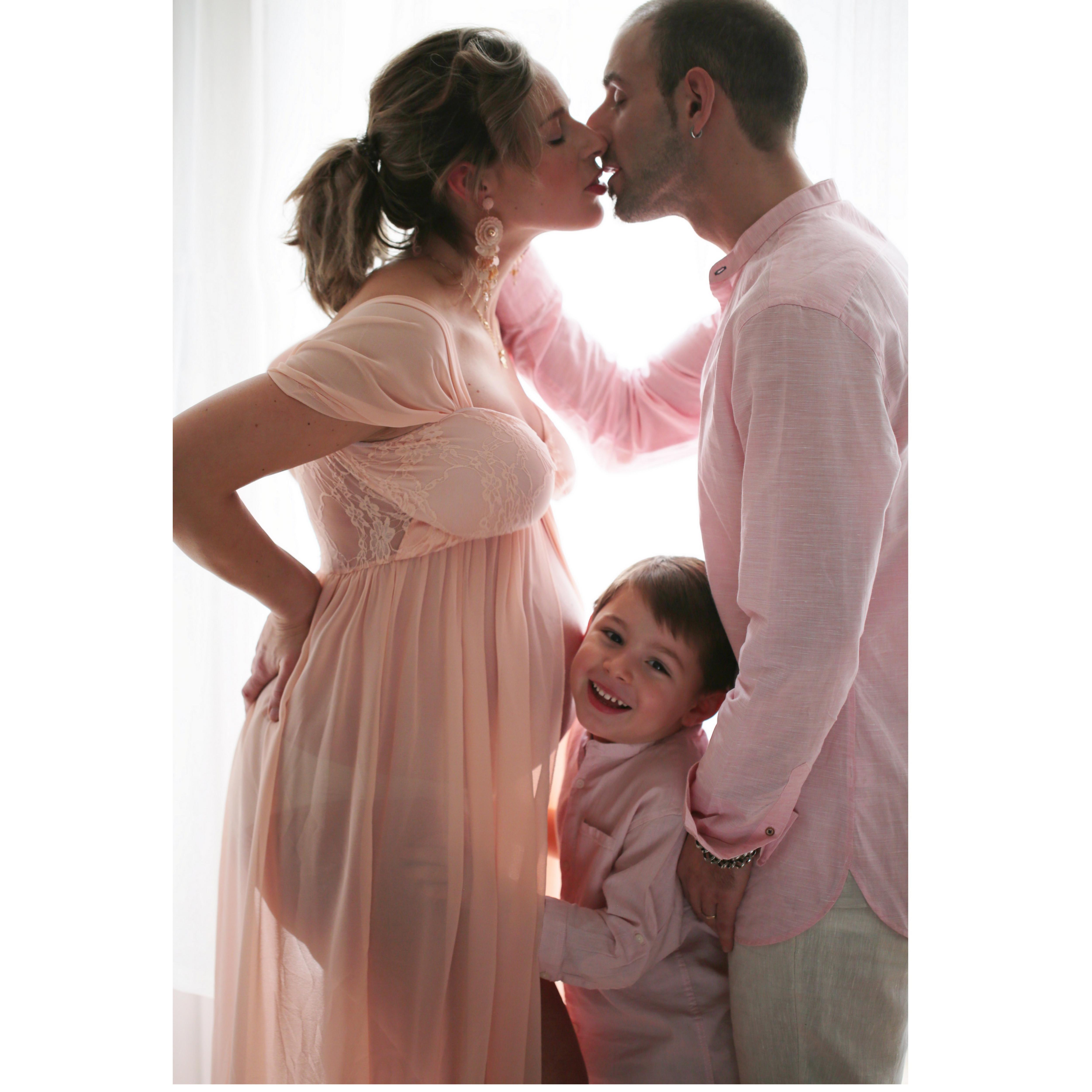 Grossesse avec conjoint(e)+1-2 enfants