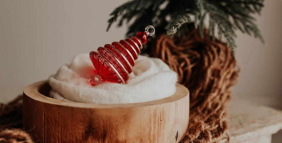 Red Modern Christmas Tree