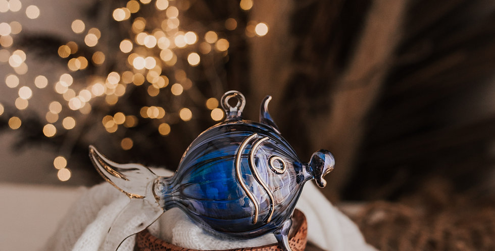 Blue Puffer Fish