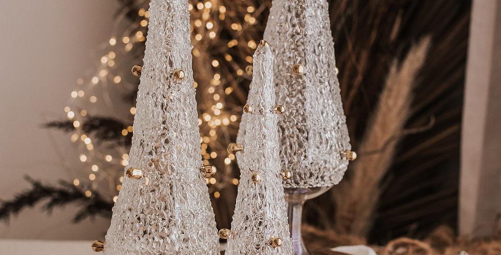 White Christmas Tree Set