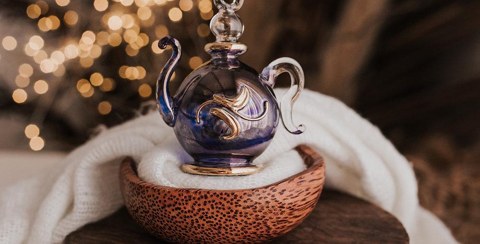 Blue Teapot Bauble