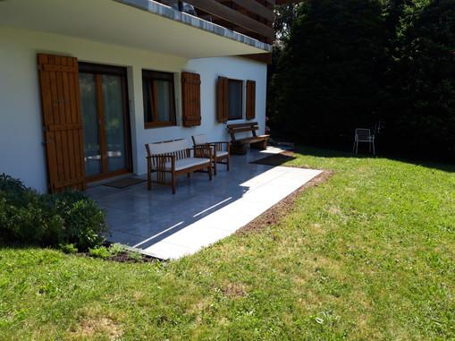 Création d'une nouvelle terrasse