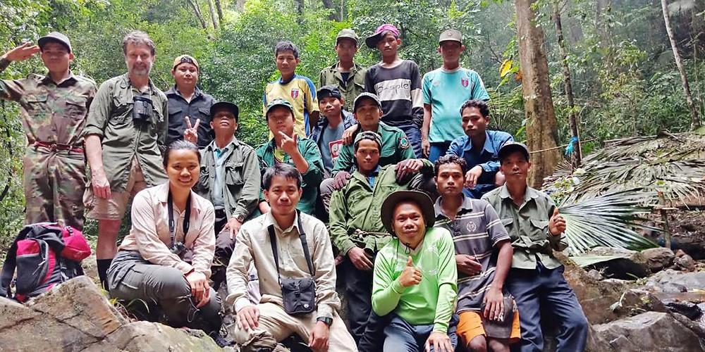 Saola Foundation Technical Team with field team