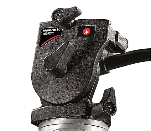 Manfrotto 700RC2 Video Head, quick release plate