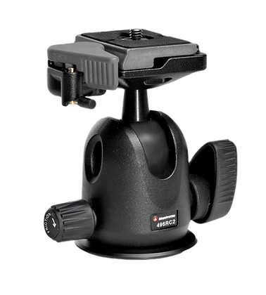 Manfrotto Compact Ball Tripod Head with RC2 Quick Release Plate