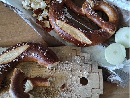 DIY Pretzels-Snacks mit Honig