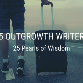 Top Travel Lessons Learned by 25 OutGrowth Writers
