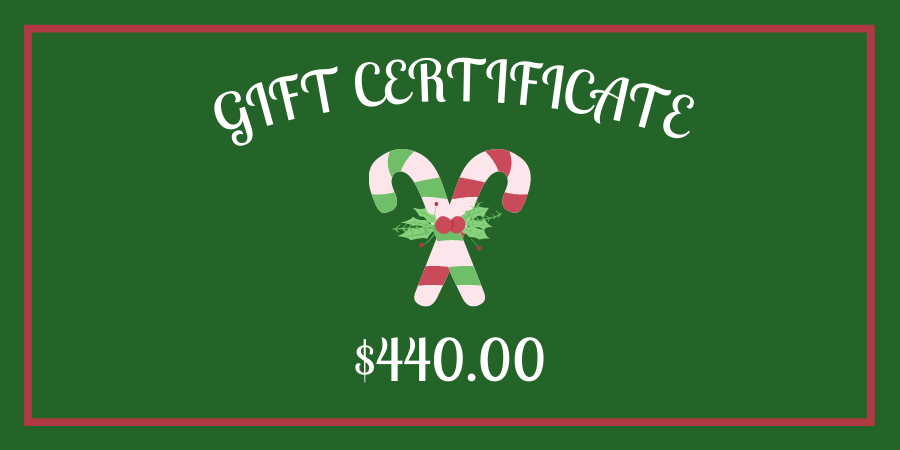Gift Certificate (8)