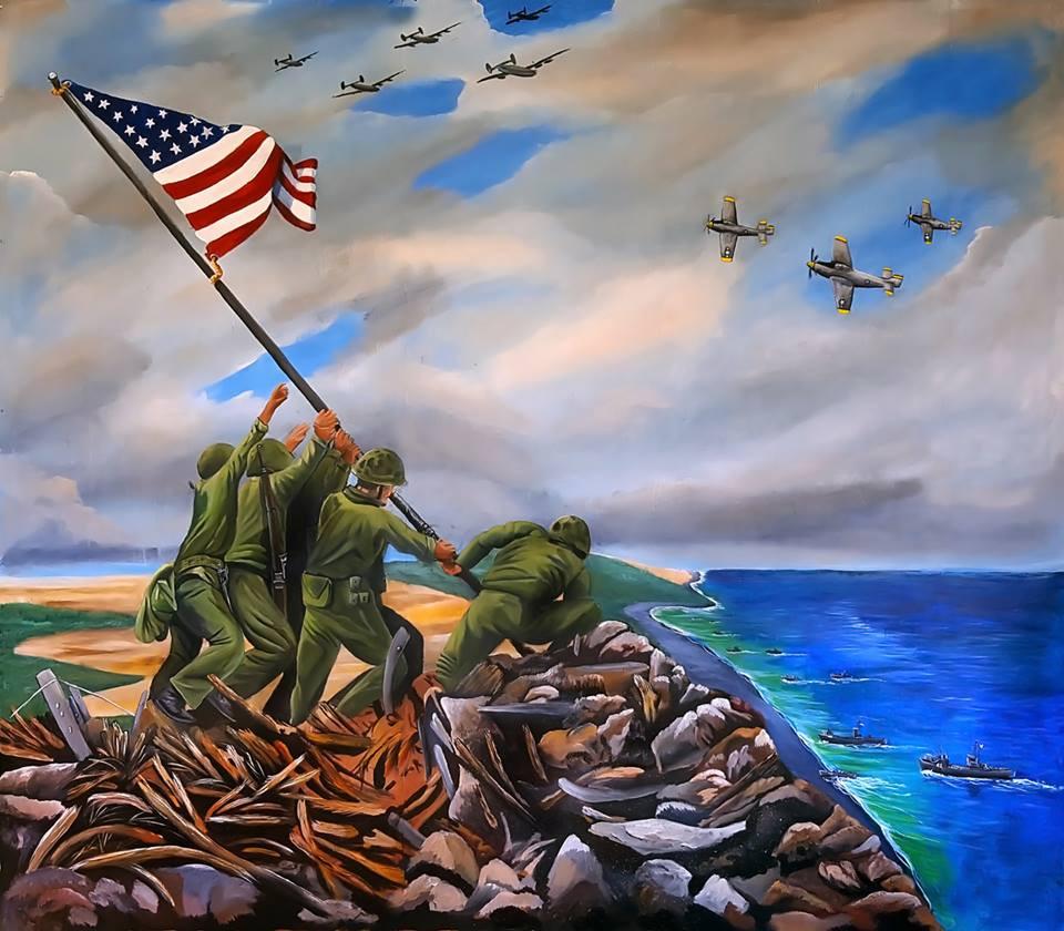 """Flag Raising at Iwo Jima"""