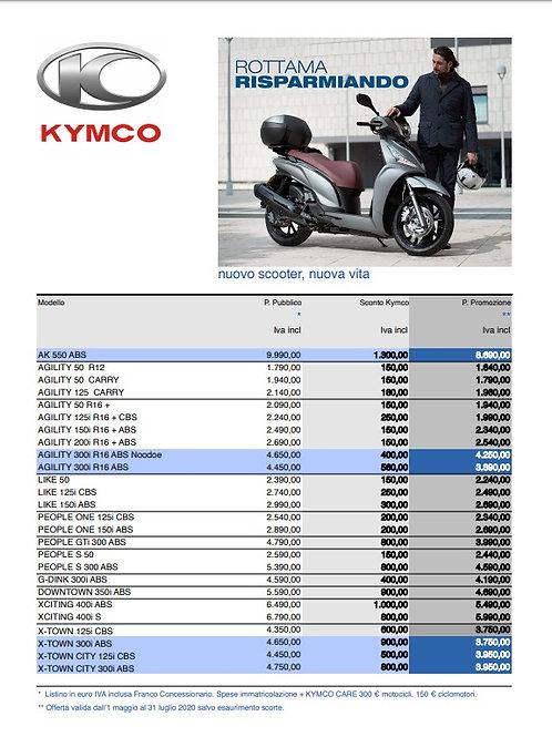 Promozioni Kymco 2020