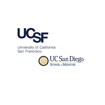 UCSF and UCSD School of Medicine Logos