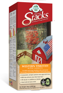 Oxbow's Harvest Stacks – Western Timothy with Carrots