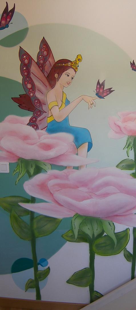 princesse fée papillon