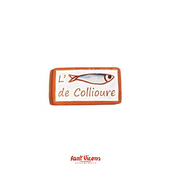 Magnet l'anchois de Collioure