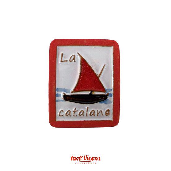 Magnet barque catalane