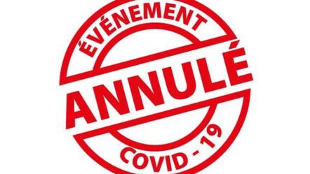 Annulation des ateliers et visites guidées du mois d'avril 2021