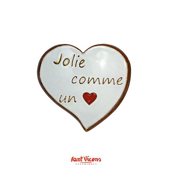 Coupelle «Jolie comme un cœur»