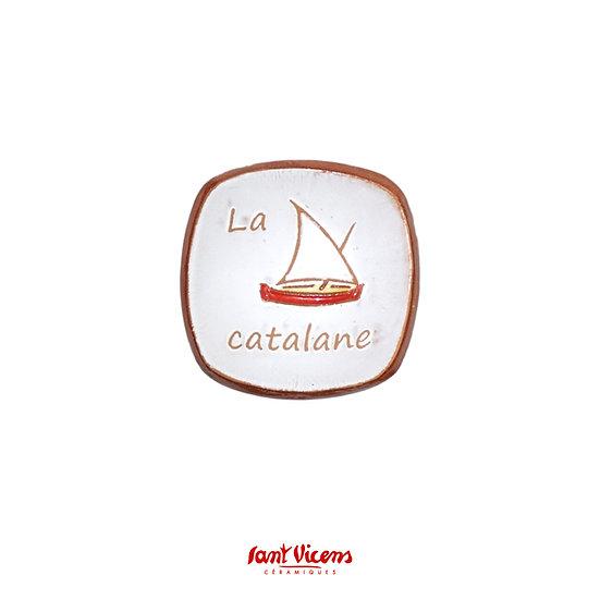 Coupelle «la barque catalane»