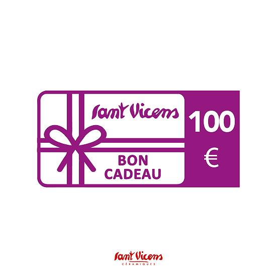 Bon cadeau 100 €
