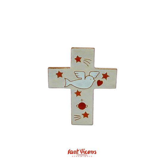 "Croix ""colombe"" d'Antoine Noetinger"