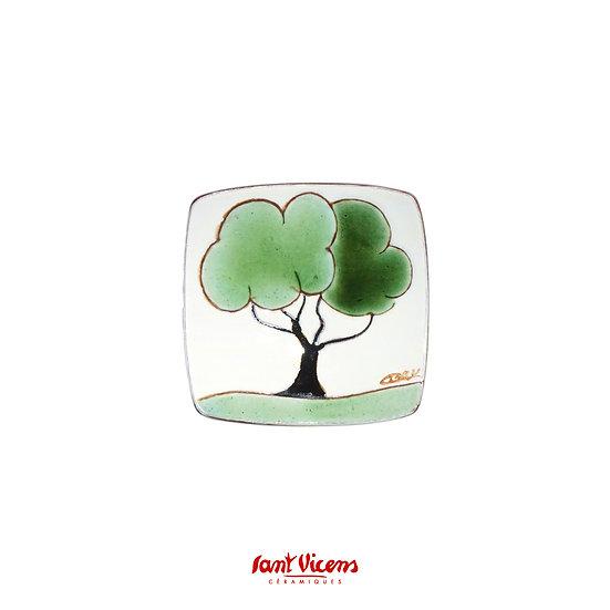 Collection «Arbres» Vide poche arbre vert