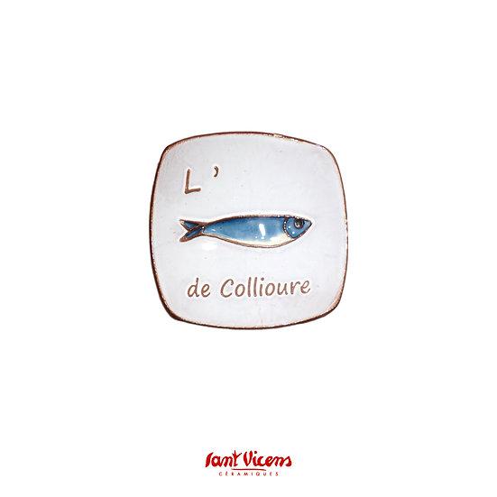 Coupelle «l'anchois de Collioure»