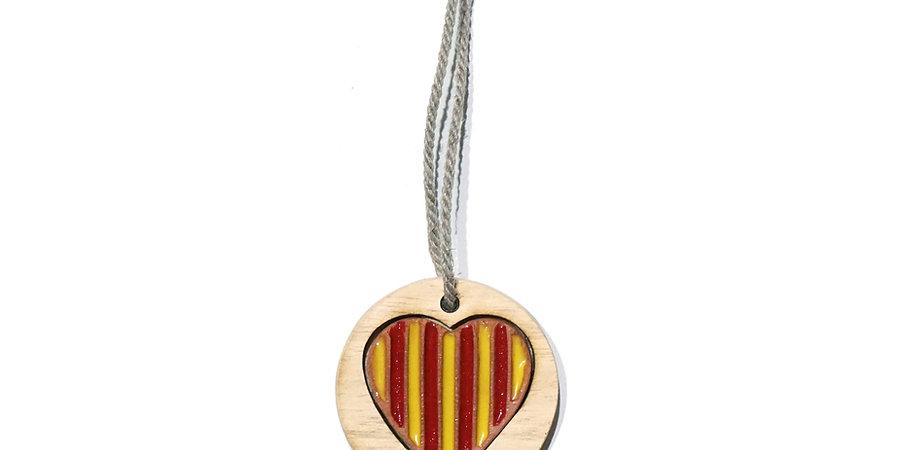 Porte clés «Mon Cœur est Catalan®»