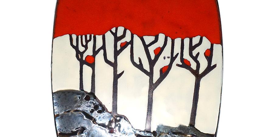 Collection «Inspiration» Plat carré forêt
