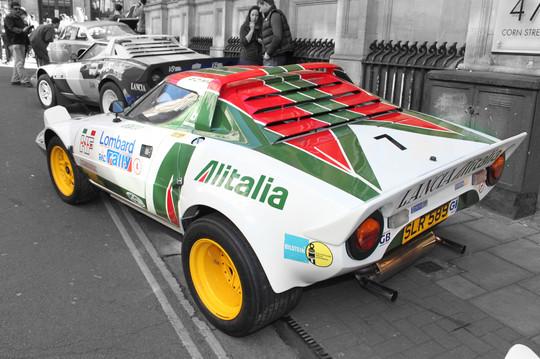 Lancia Stratos - Hawk replica