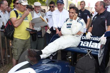 Nelson Piquet - Goodwood FOS 2013