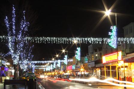 Paignton Christmas lights